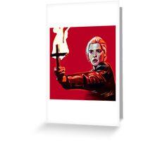 Buffy 92' Greeting Card