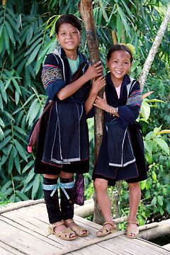 Hill Tribe Children by kaid
