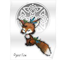 Kawaii Spirit Fox  Poster