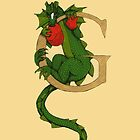 """Oscar and the Roses """"G - Tail"""" (Illustrated Alphabet) by Donna Huntriss"""
