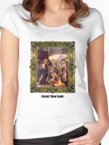 Jesus'New Look Women's Fitted Scoop T-Shirt