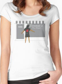 Back in the Game Women's Fitted Scoop T-Shirt