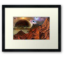 Galactic Nursery. Framed Print