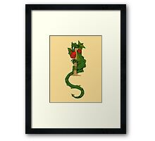 "Oscar and the Roses ""I"" (Illustrated Alphabet) Framed Print"