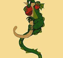 """Oscar """"J -Tail"""" (Illustrated Coloured) Sold by Donna Huntriss"""