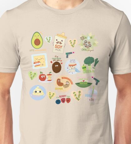 Extra VEGAN za Unisex T-Shirt
