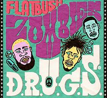 FLATBUSH ZOMBIES ALBUM D.R.U.G by herlin