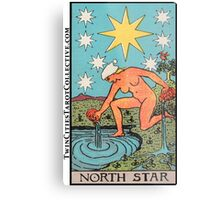 The (North) Star Tarot Card Metal Print