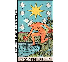 The (North) Star Tarot Card Photographic Print