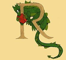 """Oscar and the Roses """"R - Tail"""" (Illustrated Alphabet ) by Donna Huntriss"""