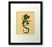 "Oscar and the Roses ""S"" (Illustrated Alphabet) Framed Print"