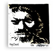 King David Canvas Print