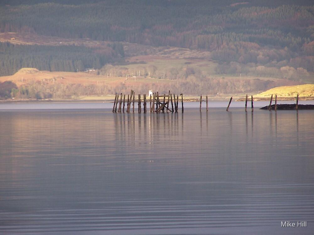 dead pier by Mike Hill