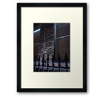 Hold On Pinhead Framed Print