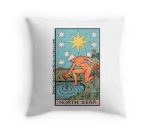 The (North) Star Tarot Card Throw Pillow