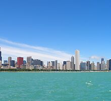 Chicago Illinois skyline by mbuban
