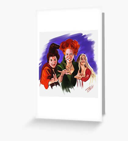 Hocus Pocus Greeting Card