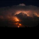 Oklahoma thunderstorm by mbuban
