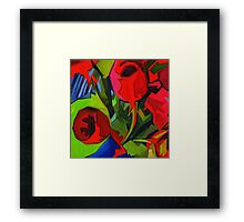 More Red Tulips  Framed Print