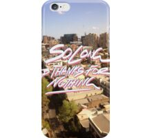 So Long And Thanks For Nothing iPhone Case/Skin