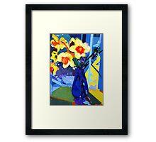 Daffodil Moment Framed Print
