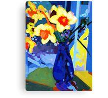Daffodil Moment Canvas Print