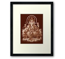 Ganesh the Remover of all obstacles Framed Print
