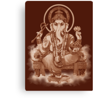Ganesh the Remover of all obstacles Canvas Print