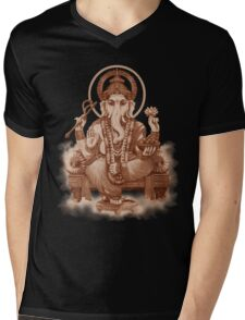 Ganesh the Remover of all obstacles Mens V-Neck T-Shirt