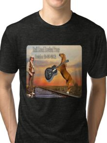MY DESIGN~~   2012 RAILROAD REVIVAL TOUR T-SHIRT  Tri-blend T-Shirt