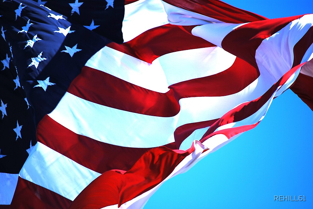 Flag II (Thomas Jefferson) by REHILL61
