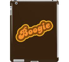 Boogie - Retro 70s - Logo iPad Case/Skin