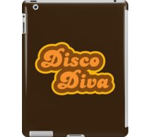 Disco Diva - Retro 70s - Logo iPad Case/Skin
