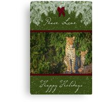 Just like Mom for the Holidays Canvas Print