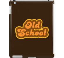 Old School - Retro 70s - Logo iPad Case/Skin