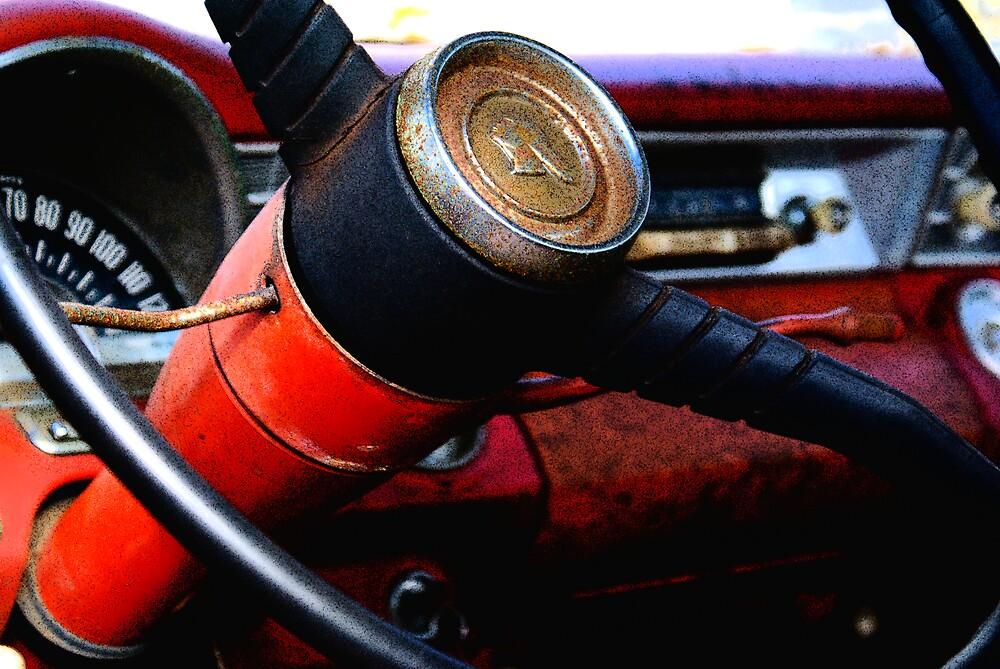56 Pontiac Interior by Rod  Adams