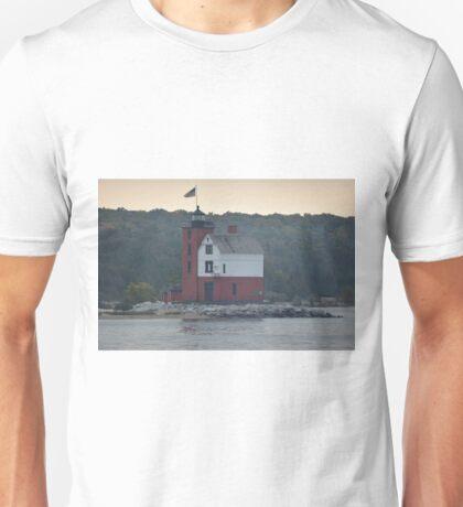 Round Island Lighthouse Unisex T-Shirt