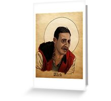 Nick, the Newest Vampire - What We Do In The Shadows Greeting Card