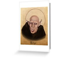 Petyr the Vampire - What We Do In The Shadows Greeting Card