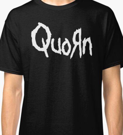 Quorn Nu Metal Vegan Vegetarian Design White Korn Classic T-Shirt