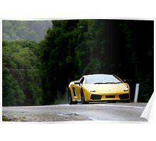 Lamborghini Gallardo SE Poster
