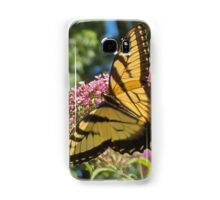 Eastern Tiger Swallowtail Butterfly Closeup Photography  Samsung Galaxy Case/Skin