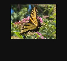 Eastern Tiger Swallowtail Butterfly Closeup Photography  Womens Fitted T-Shirt