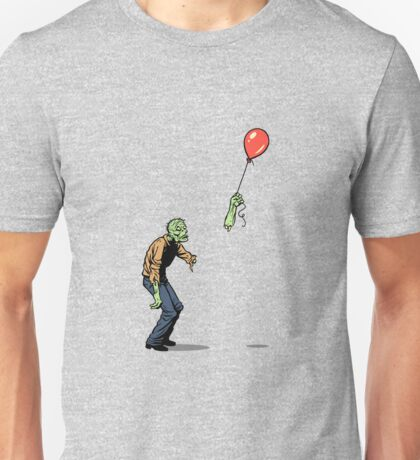 zombie and baloon Unisex T-Shirt