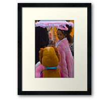 Chicago halloween daily plaza Framed Print