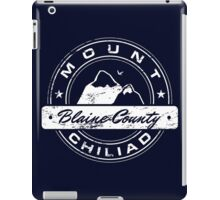 Mt Chiliad GTA iPad Case/Skin