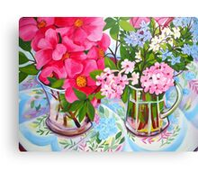 Camelia still life Canvas Print
