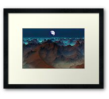 Badlands - Kraken Tor. Framed Print