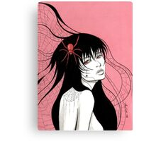 Lady Spider Canvas Print