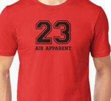 23 - Air Apparent (Flash Black) Unisex T-Shirt